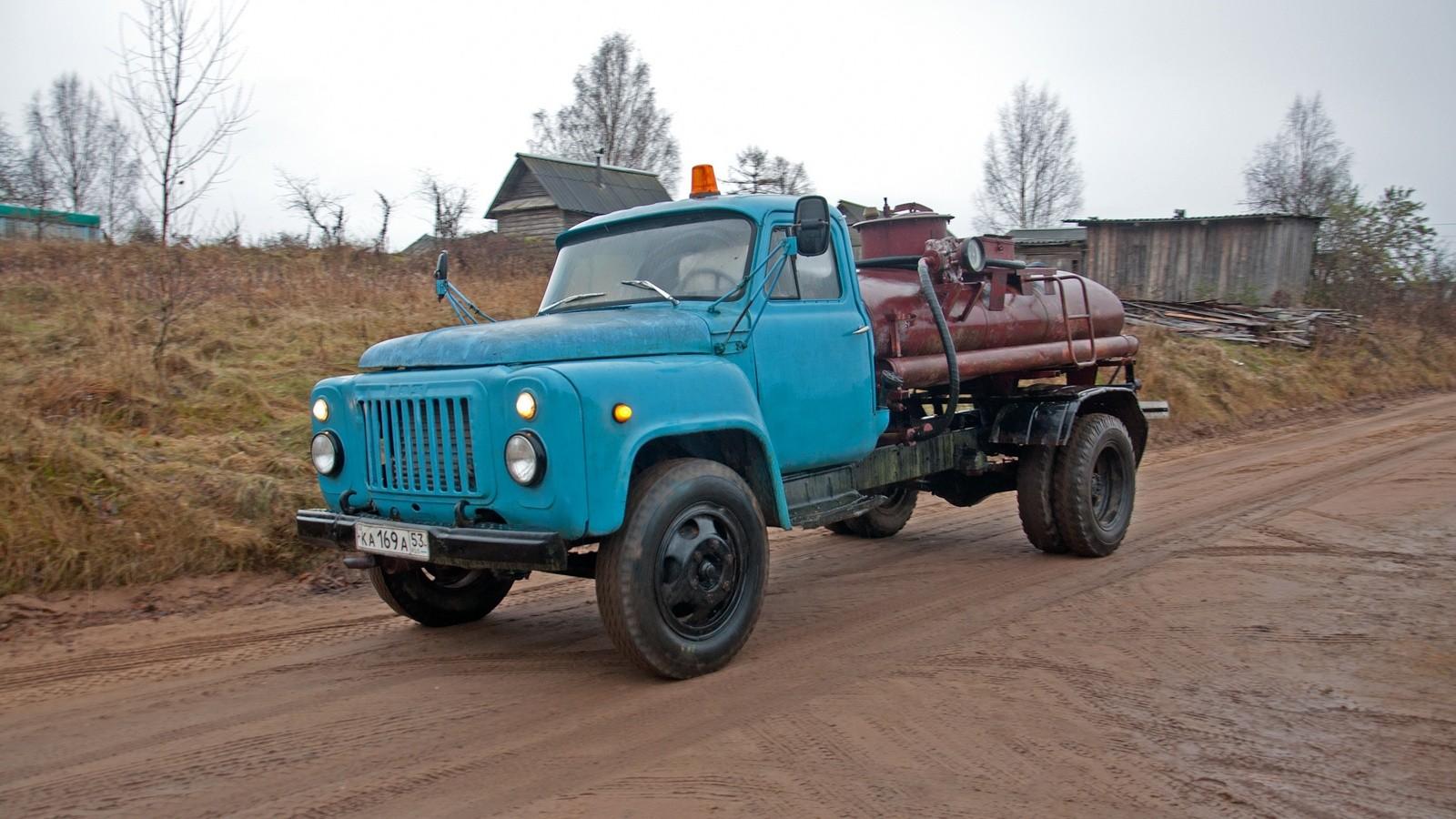 ГАЗ-52 топливозаправщик