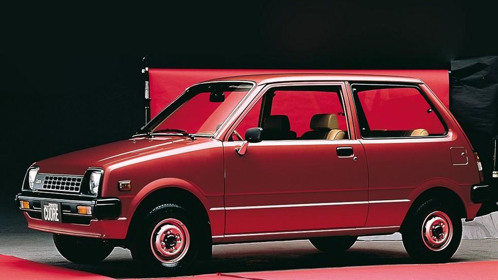 На фото: Daihatsu Cuore. Япония, 1980