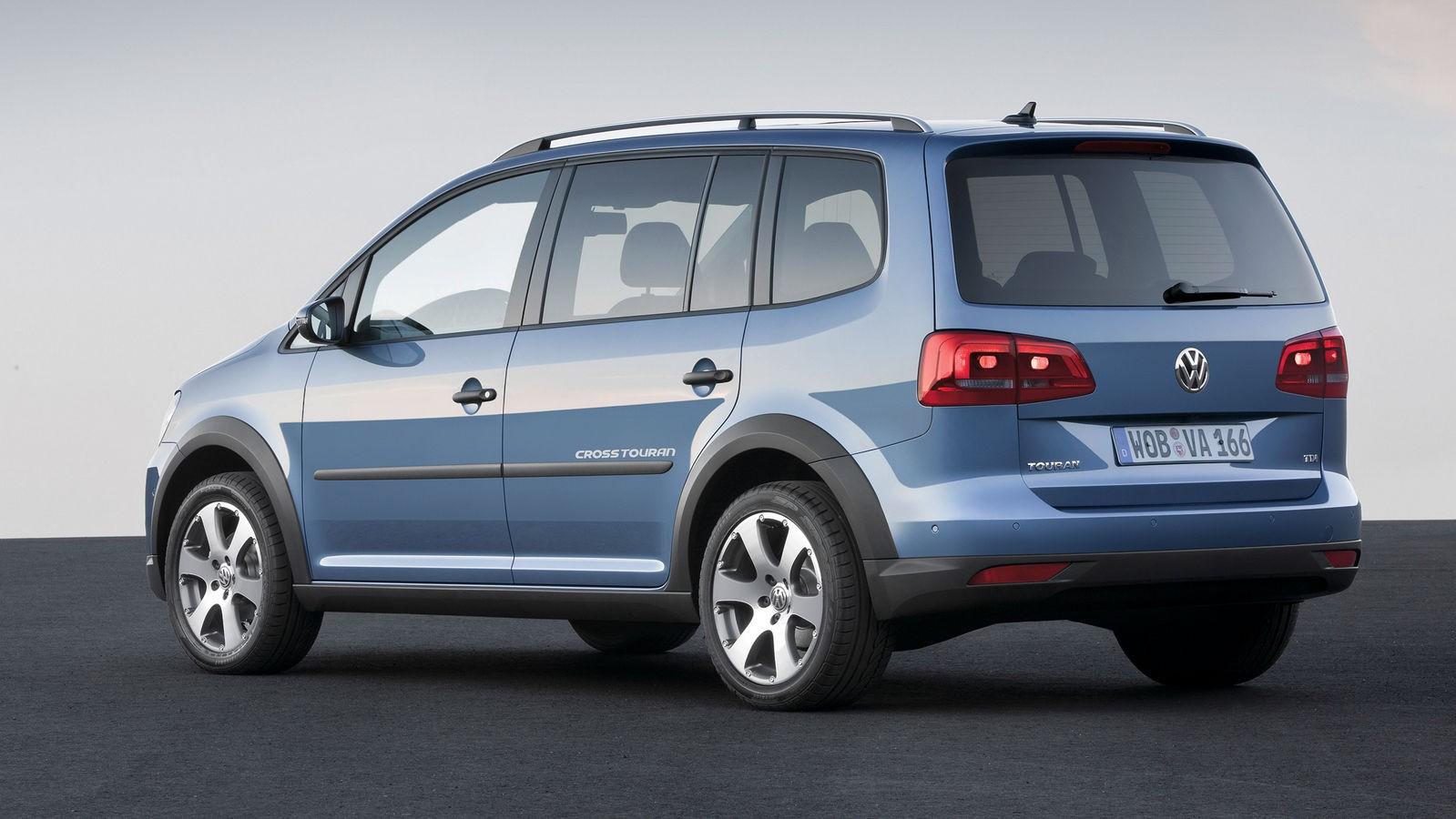 Volkswagen CrossTouran '2010–15