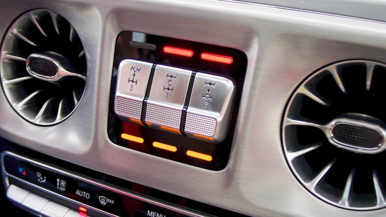 Mercedes-Benz G-Klasse блокировка