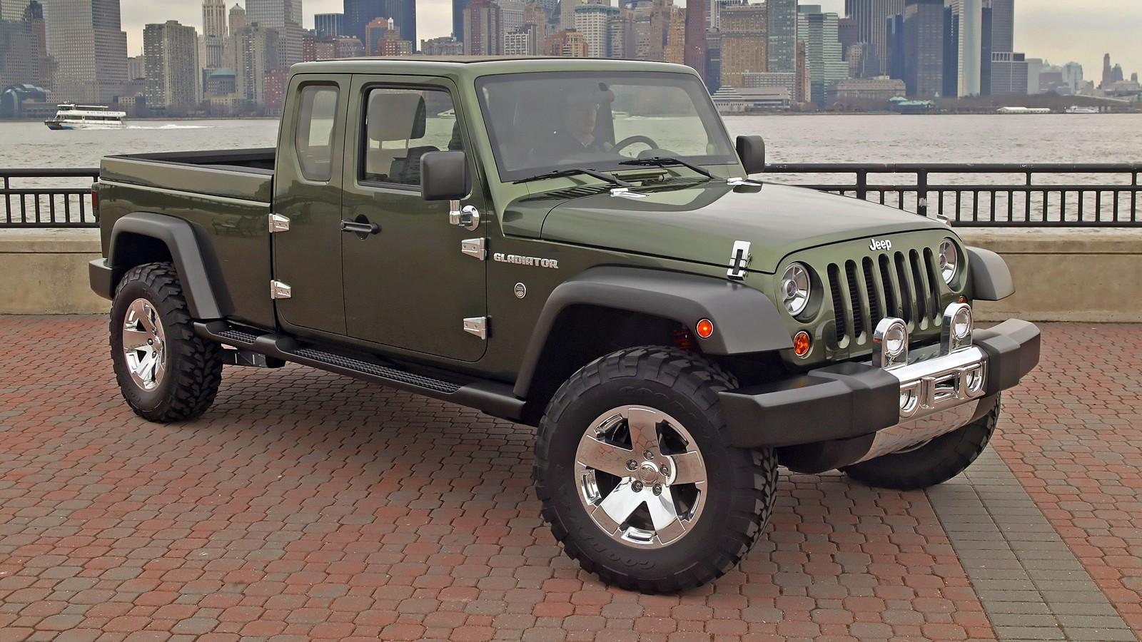 На фото: Jeep Gladiator Concept '2005