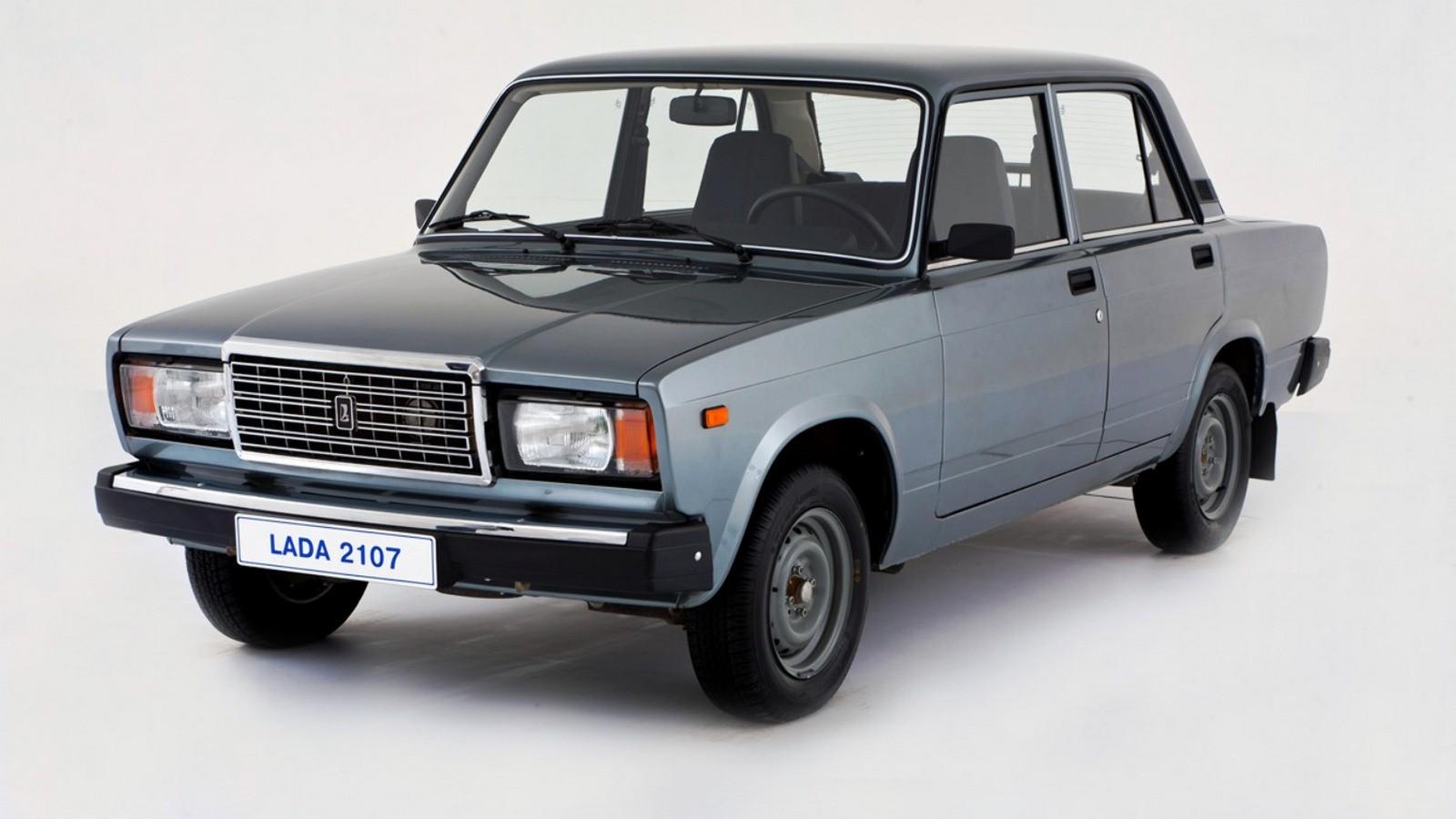 На фото: Lada 2107 '2006–2012