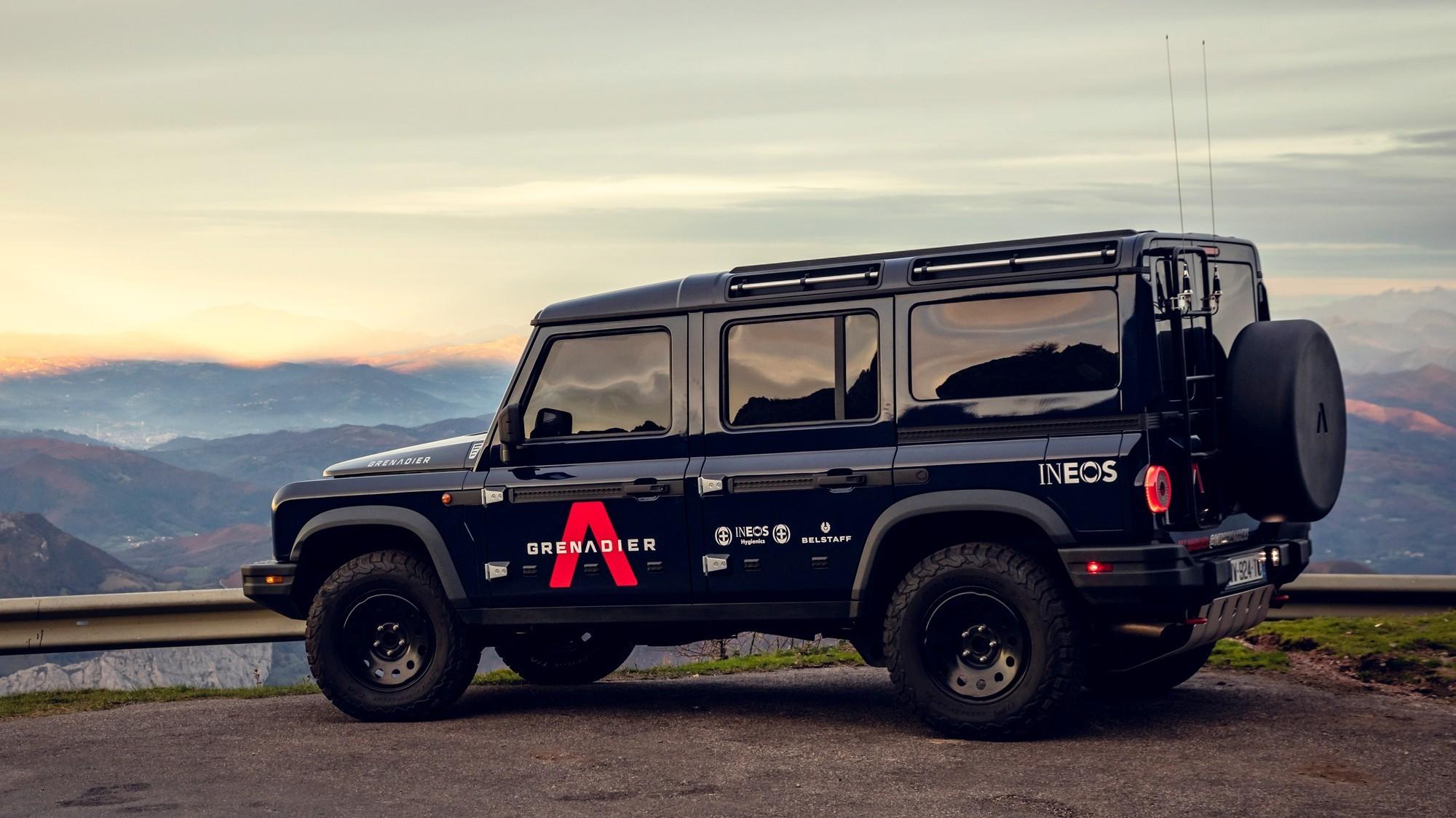 Внедорожник Ineos Grenadier примерит водородную силовую установку Hyundai