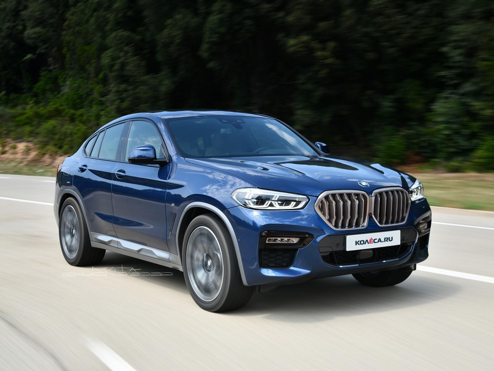 Обновлённый BMW X4: первые изображения
