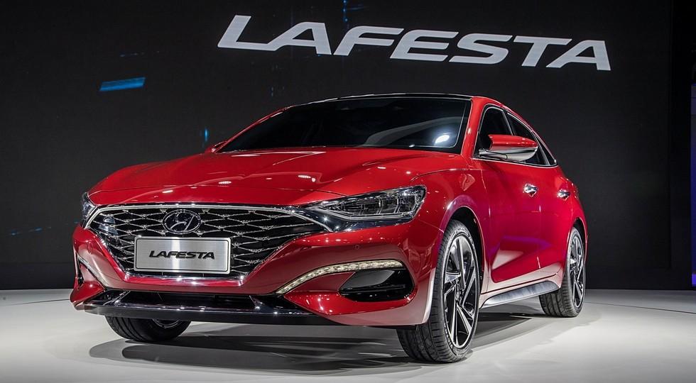 На фото: концепт Hyundai Lafesta