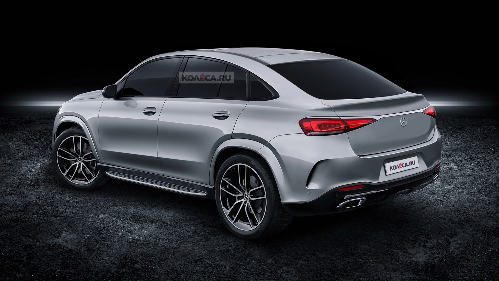 Mercedes-Benz GLE Coupe rear1