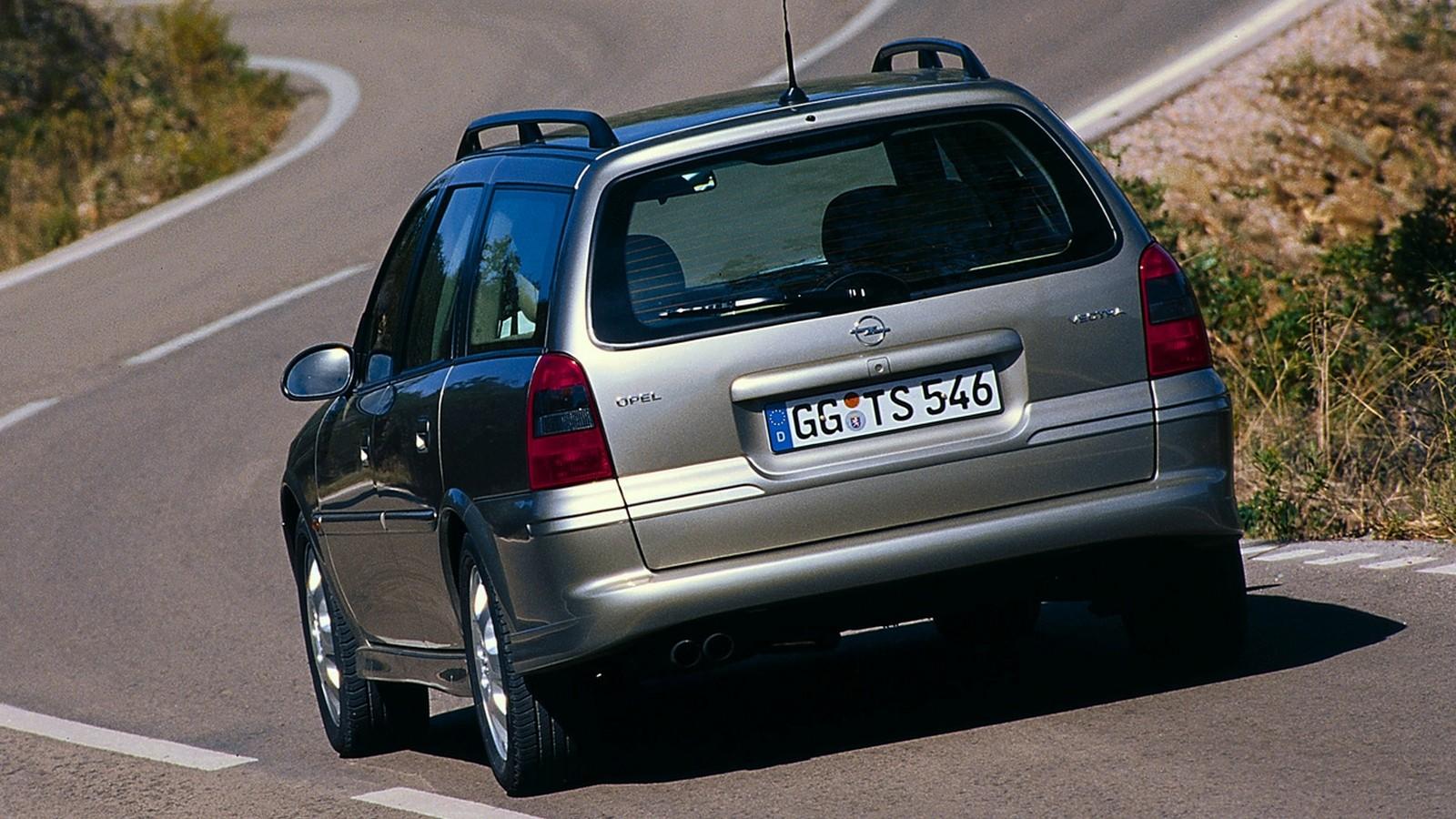 На фото: Opel Vectra Caravan (B) '1999–2002