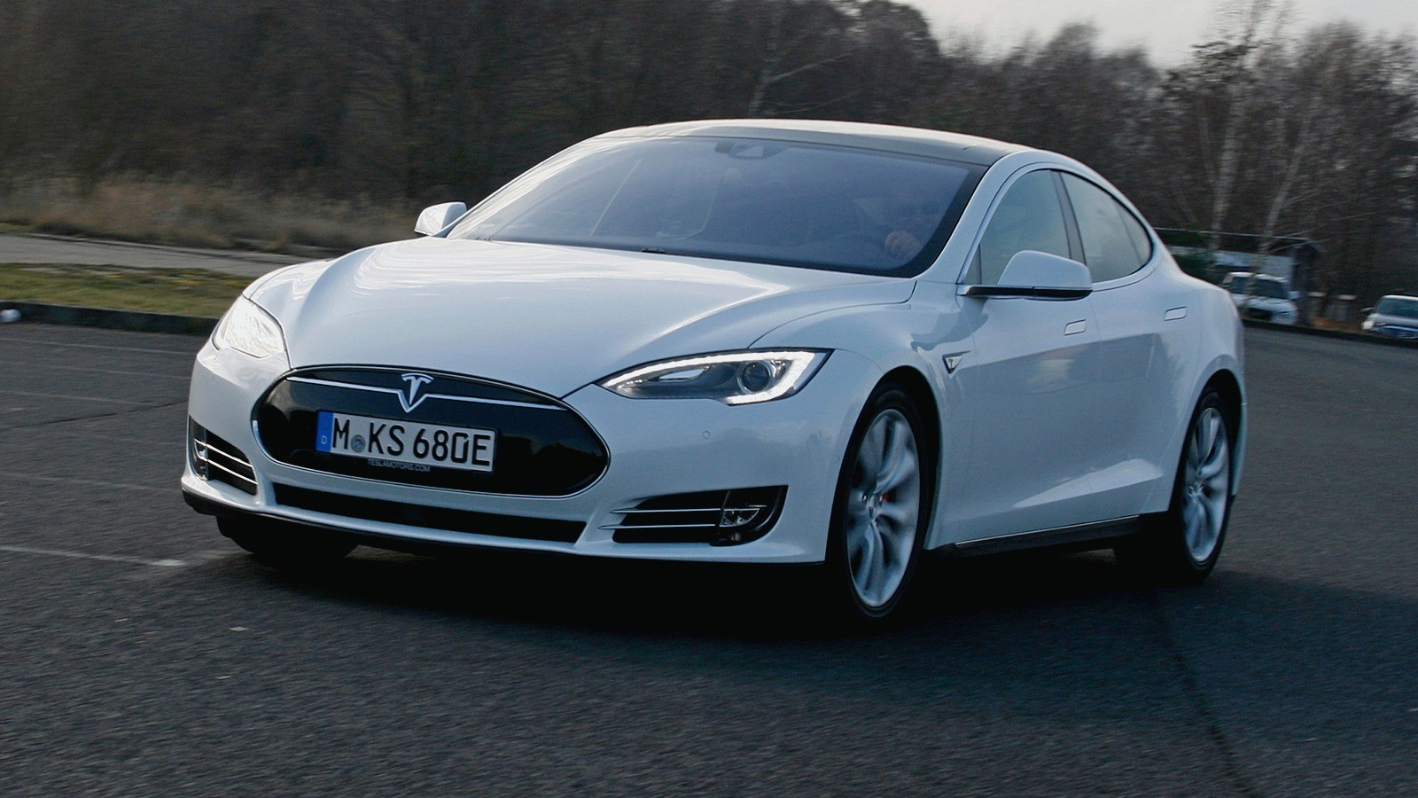 Tesla Model S P85D '2014–16