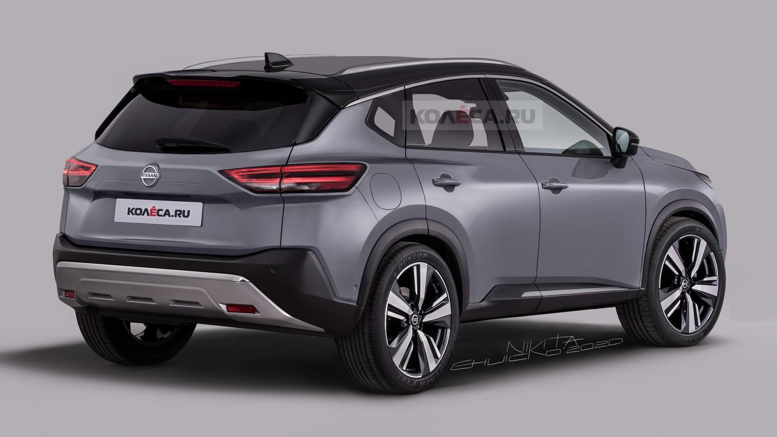 Новый Nissan Qashqai: первые изображения