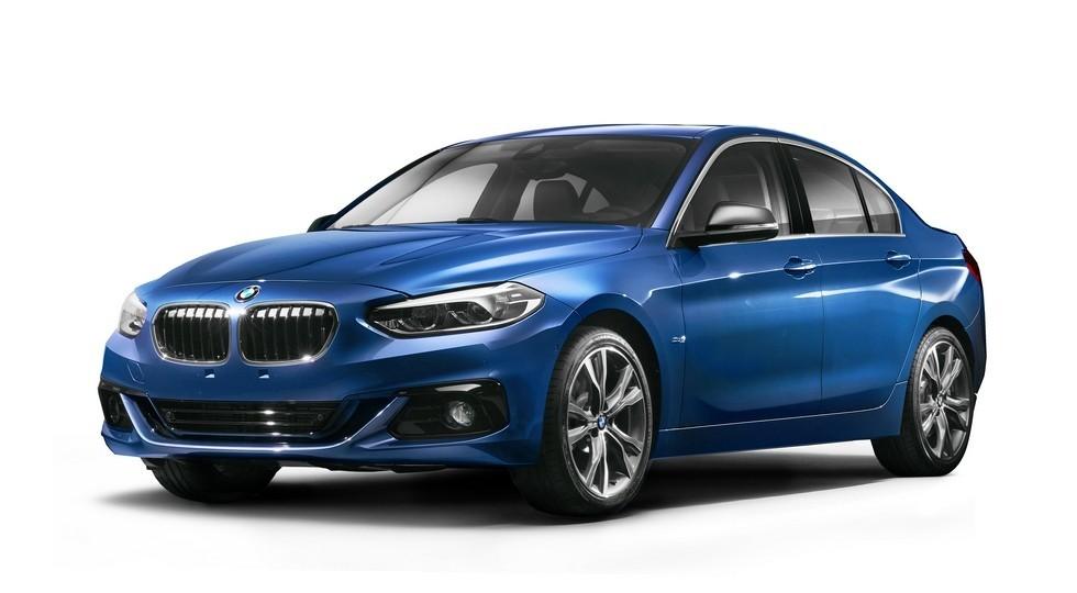 На фото: BMW 1 Series Sedan