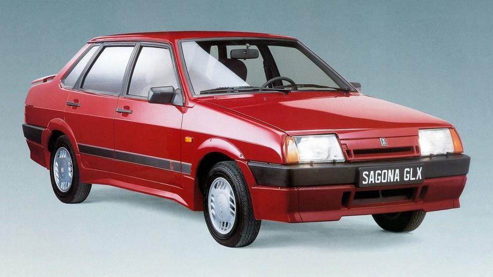 Lada Sagona GLX – топ-версия седана для рынка Франции
