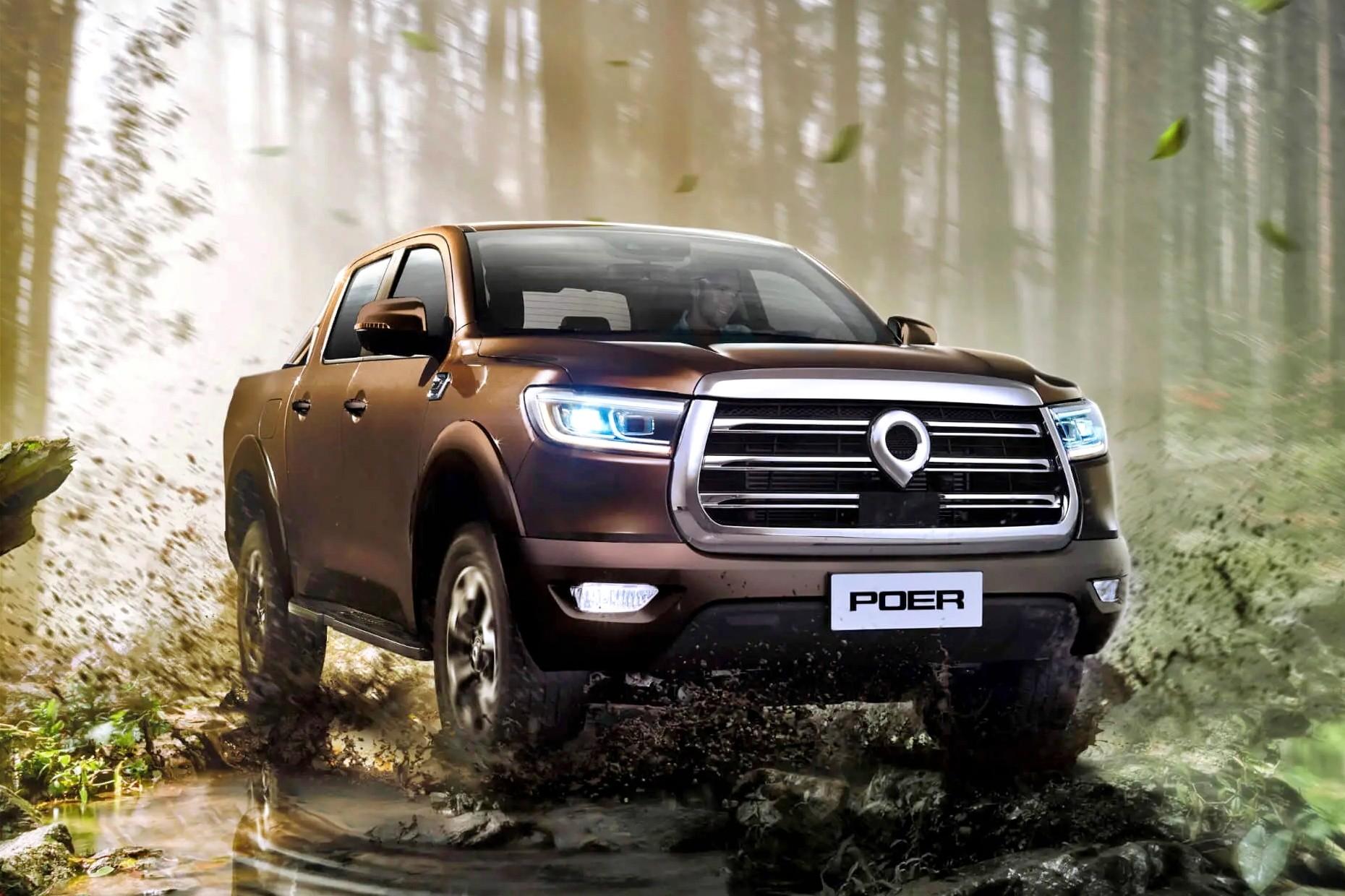 В РФ стартовали продажи пикапа Great Wall Poer: дизель, «автомат» и удобный полный привод