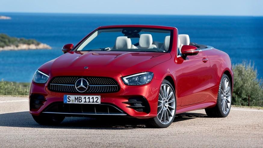 «Посвежевшие» купе и кабриолет Mercedes E-Class: обновлённая линейка моторов и мультимедиа