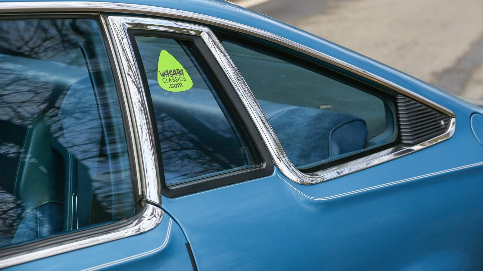Mazda RX-5 голубая форточка