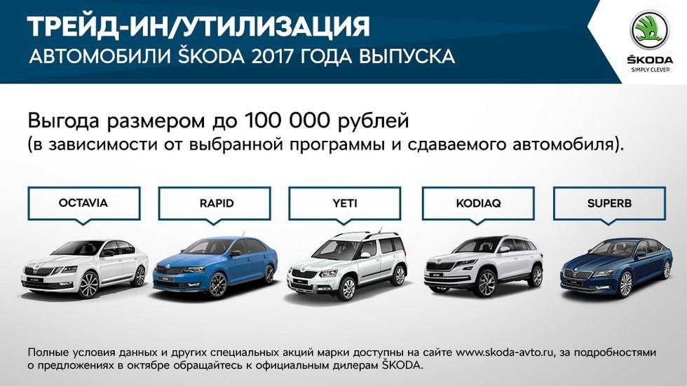 Специальные предложения для клиентов SKODA в октябре (1)