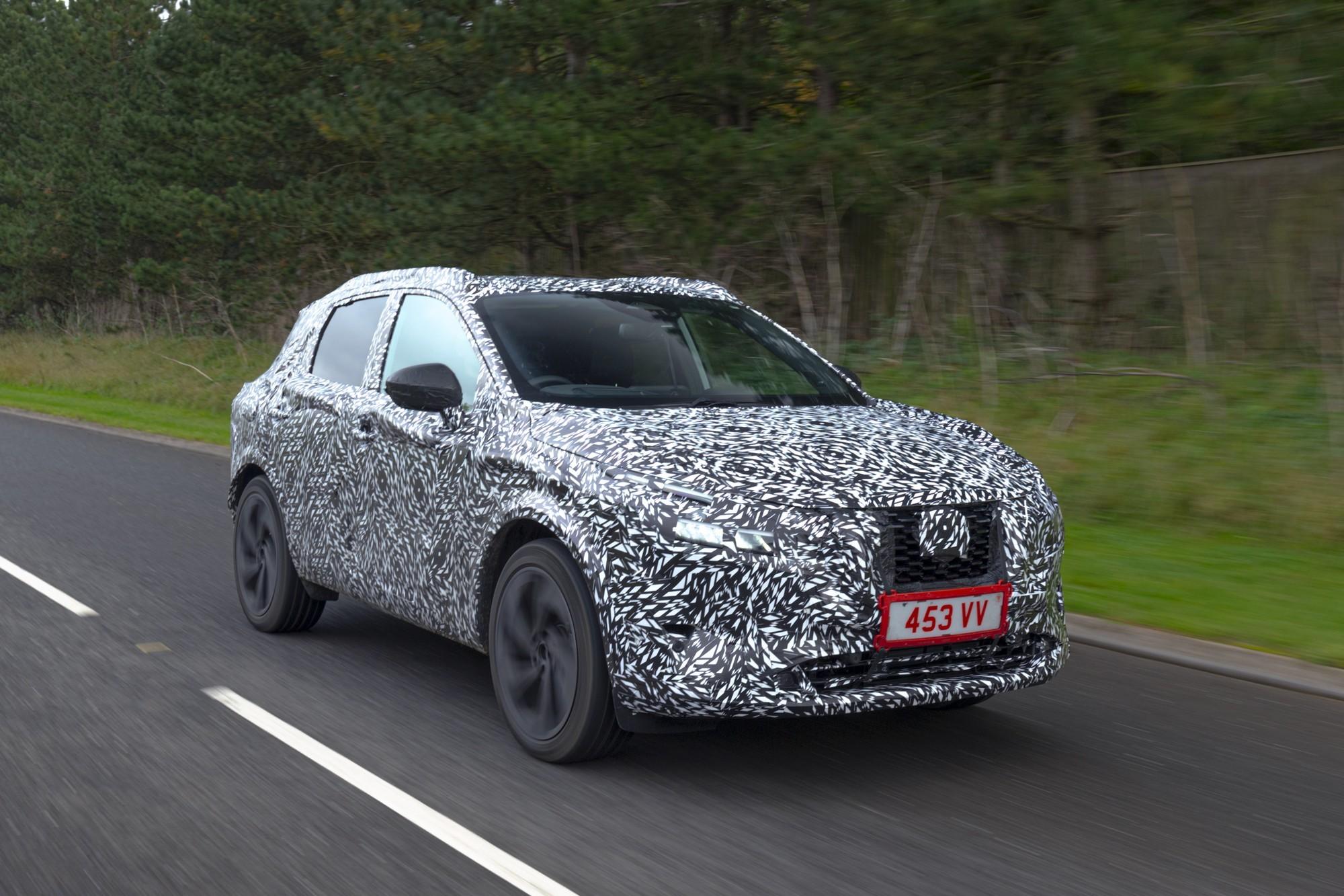 Новый Nissan Qashqai: алюминий в кузове и «отрыв» двигателя от колёс