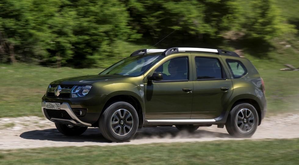 ТОП-10 SUV России: второе место Kia Sportage и первый «плюс» Renault Duster