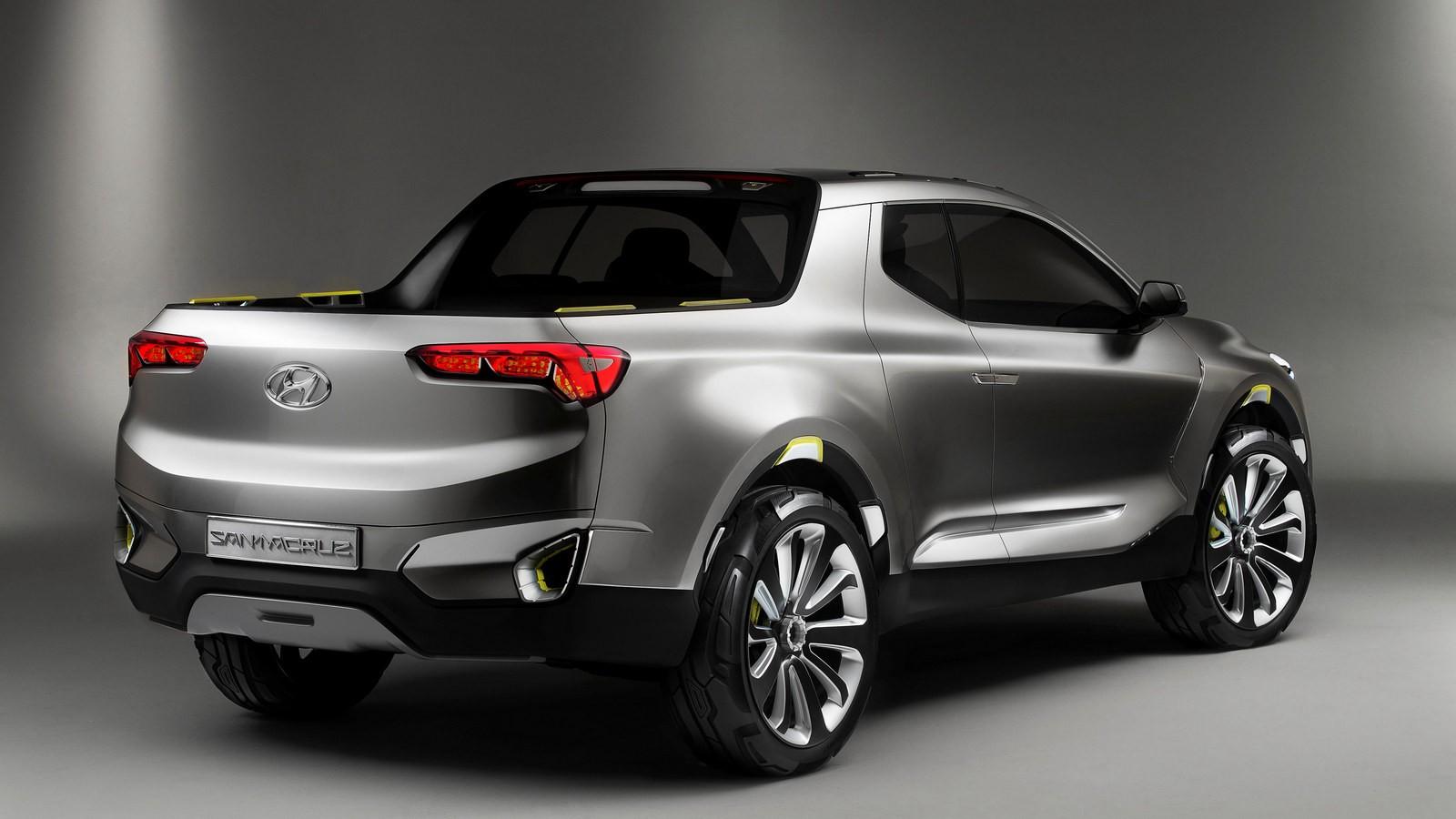 Hyundai Santa Cruz Concept 2015 года