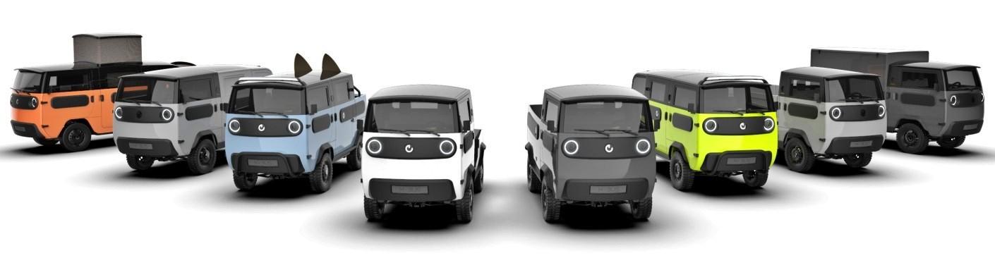 Xbus: полноприводная электрическая «буханка» из Германии готовится выйти на рынок
