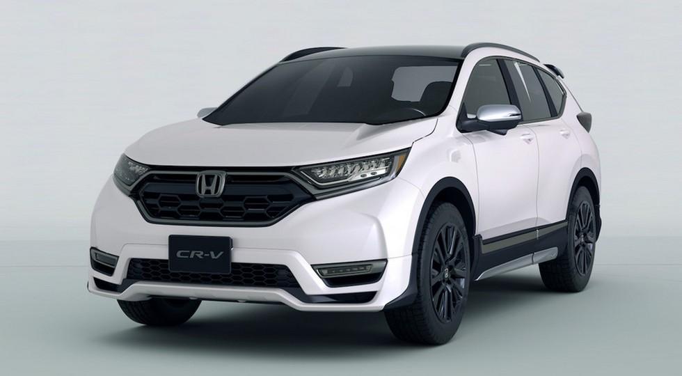 На фото: Honda CR-V Custom Concept