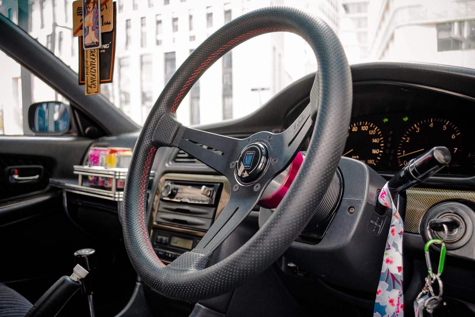 Кто уронил шоколадку: тюнинг Toyota Chaser JZX 100