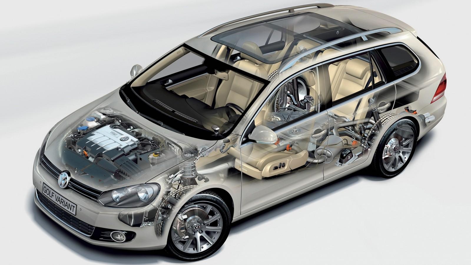 На фото: Volkswagen Golf Variant (Typ 5K) '2009–н.в.