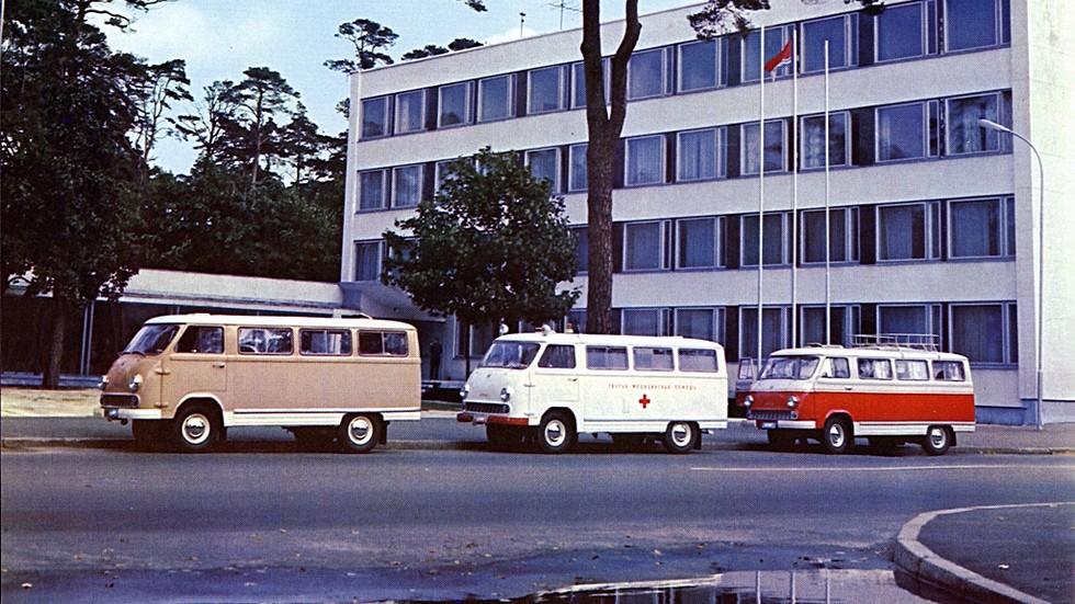 На фото: РАФ-977 '1958–76