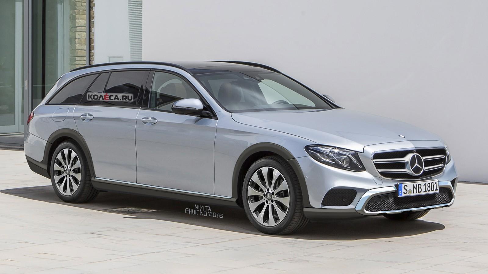 Mercedes AllTerr render front