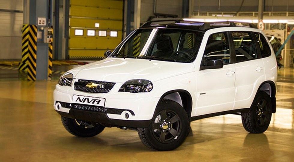 На фото: Chevrolet Niva Special Edition