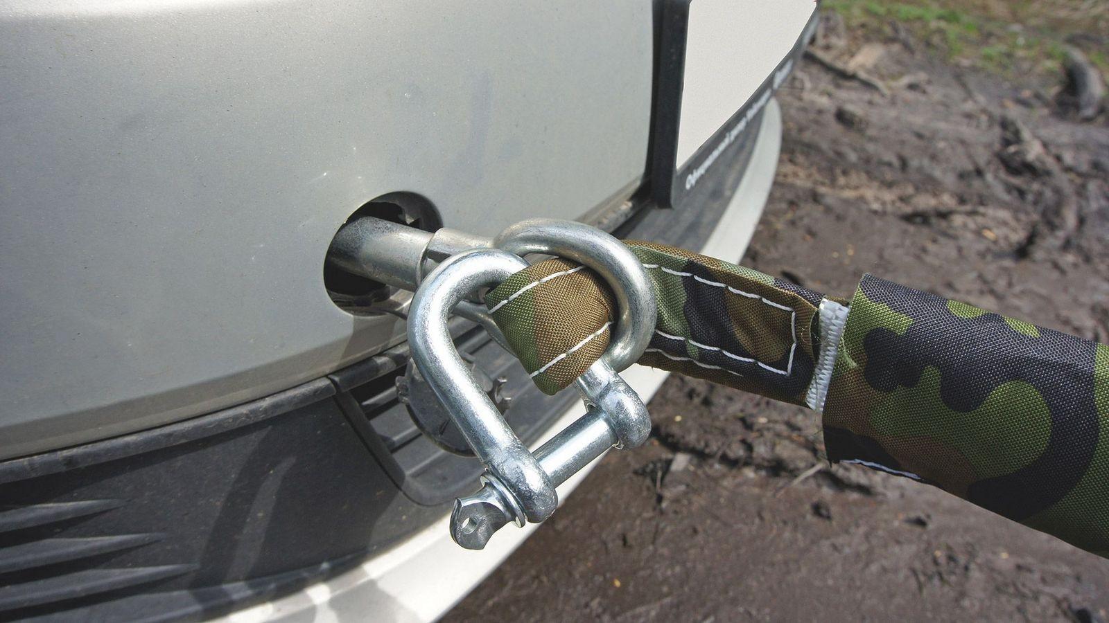 Volkswagen Polo бампер трос