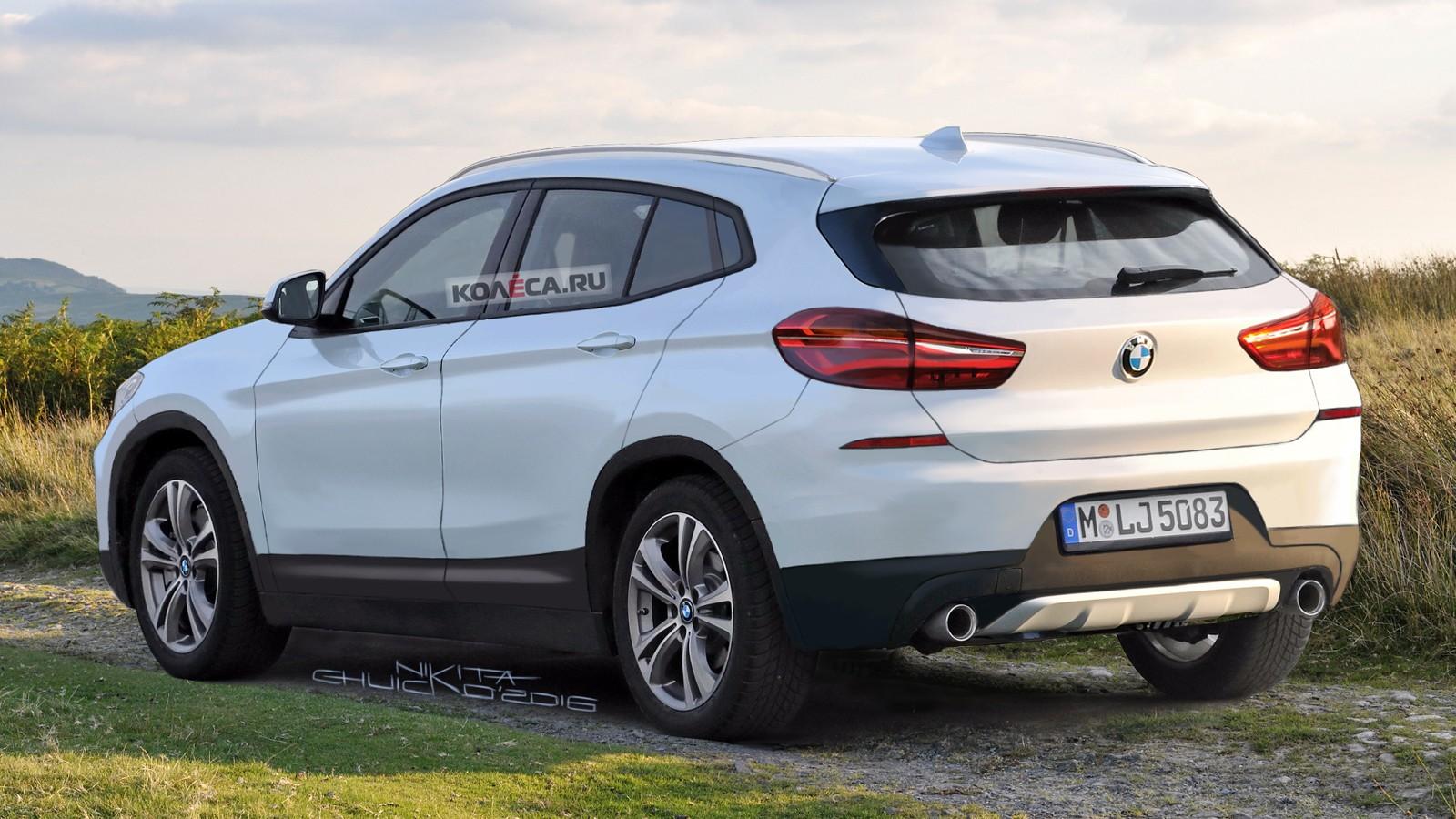 BMW X2 rear