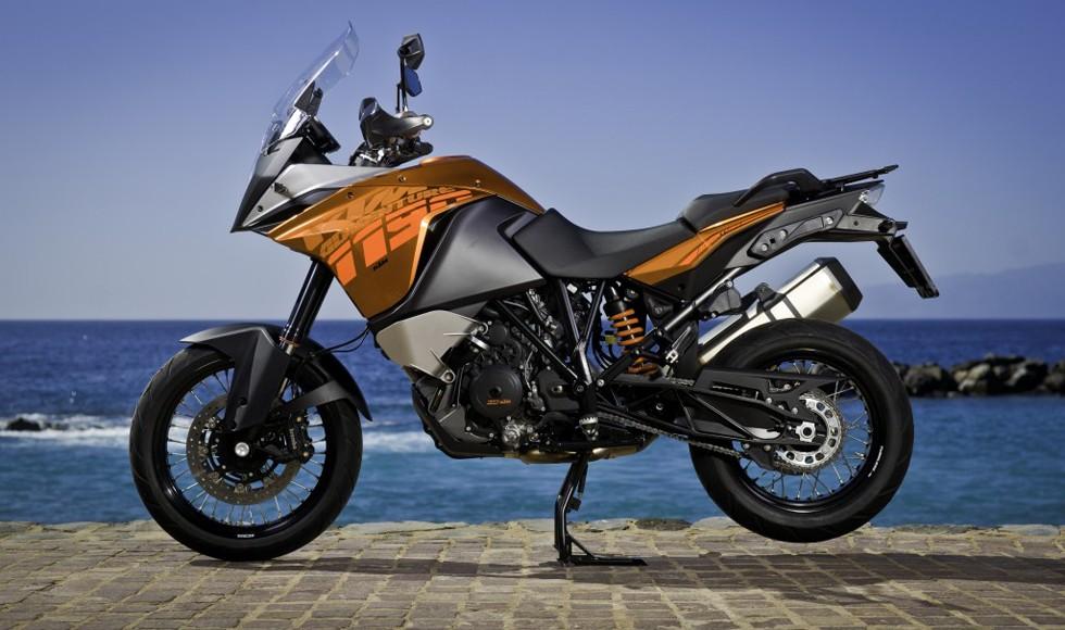 На фото: KTM Adventure
