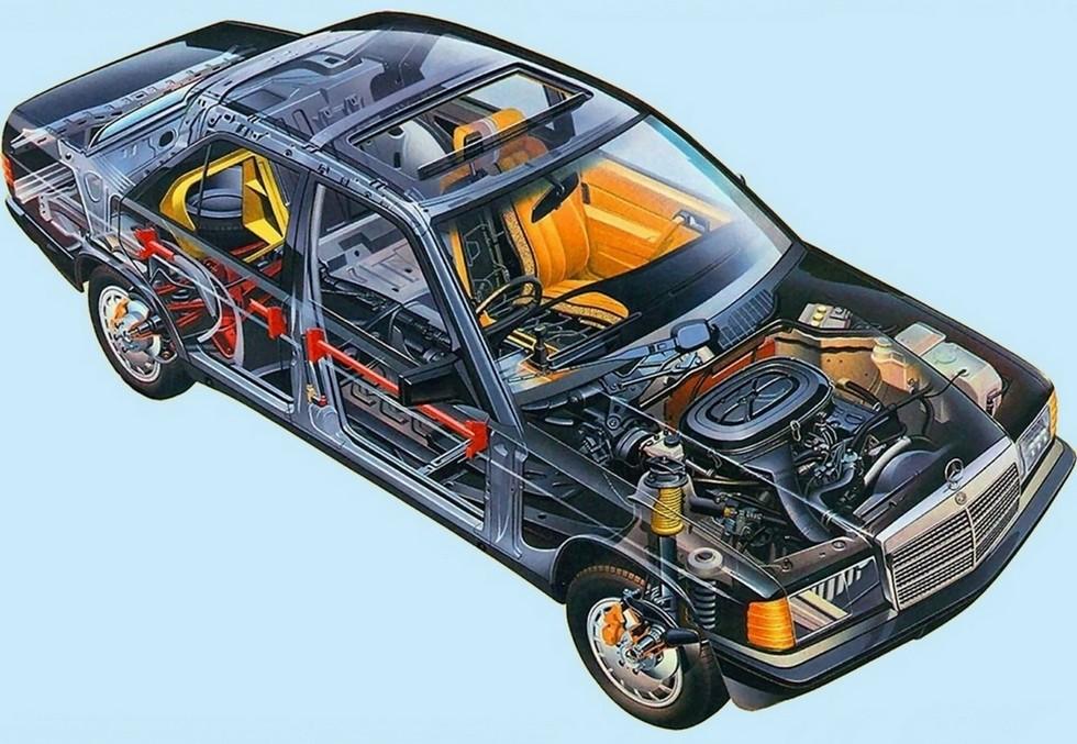 На фото: Mercedes-Benz 190 (W201) '1982–93