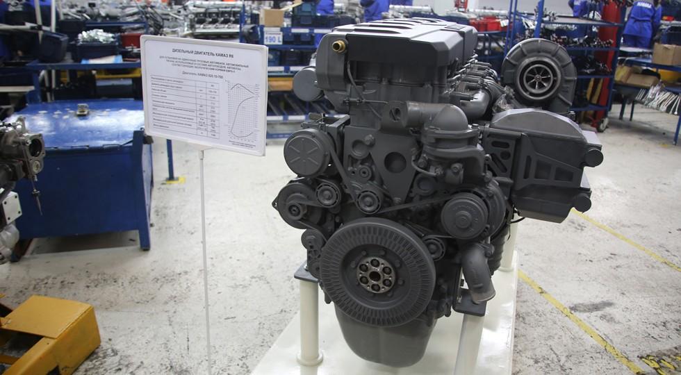 На фото: двигатель нового поколения Р6