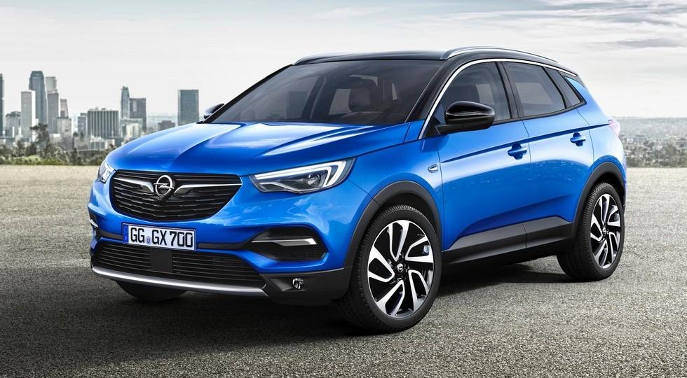 2017 Opel Grandland X — embargoed until April 19th