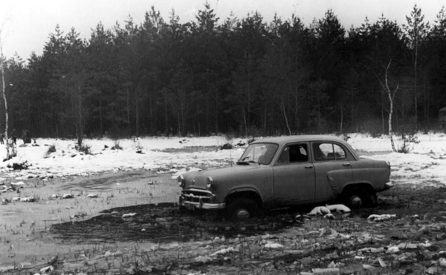 Испытания «Москвича-410»