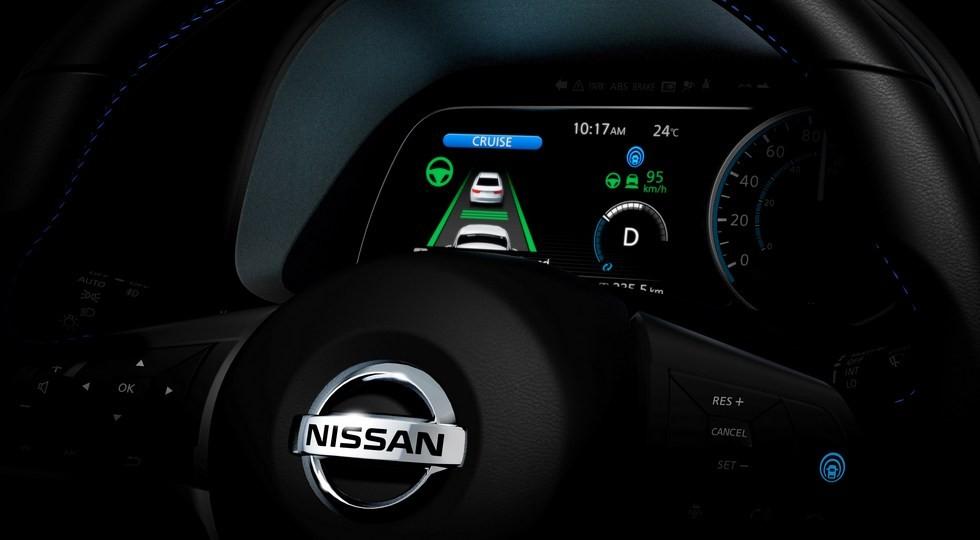 Тизер Nissan Leaf нового поколения