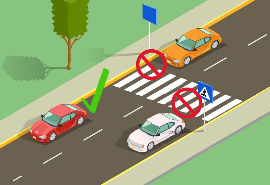 Можно ли стоять на пешеходном переходе