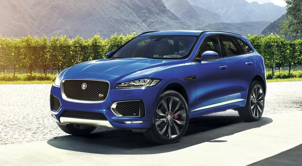 На фото: Jaguar F-Pace,