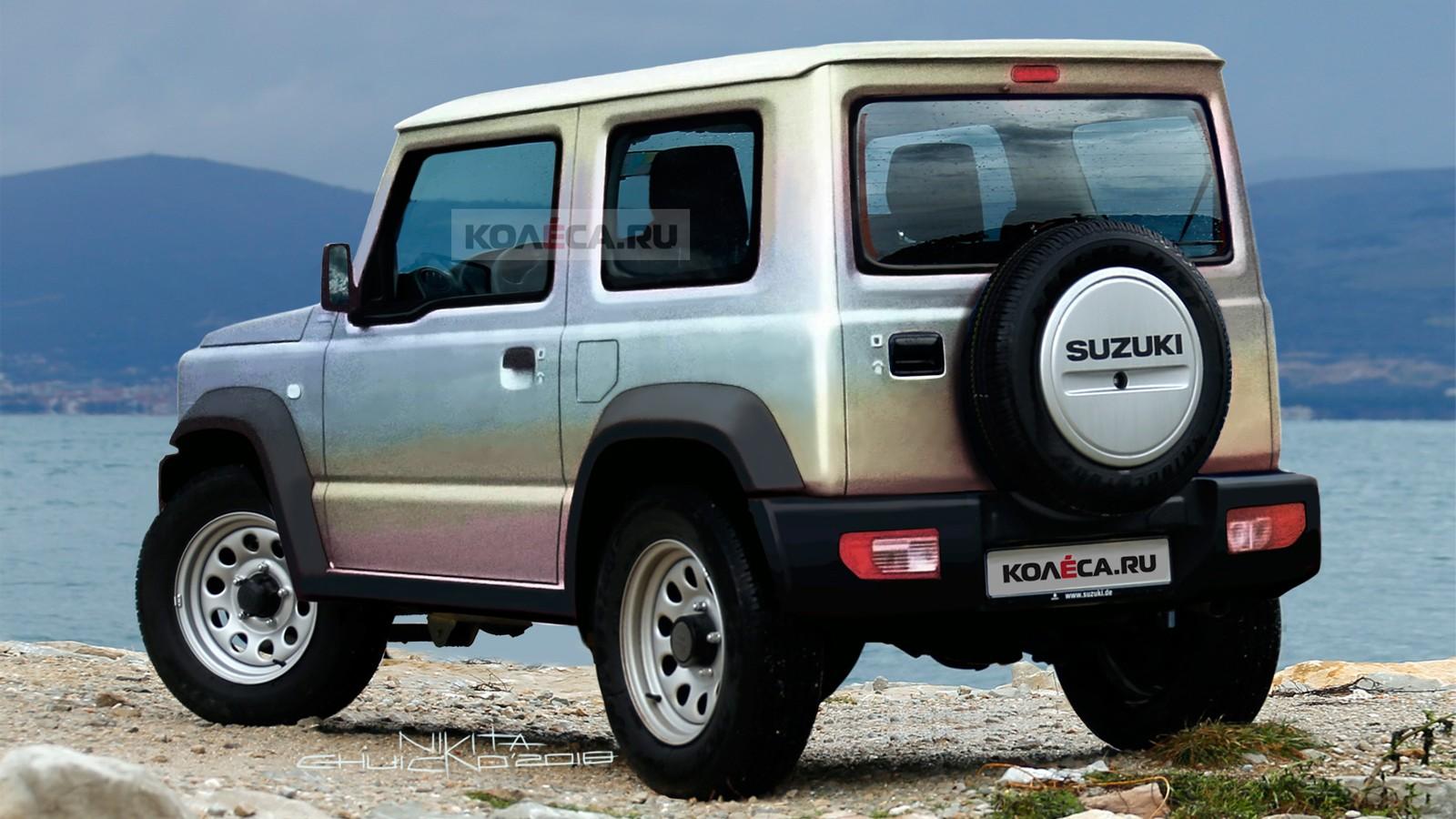 Suzuki Jimny rear1