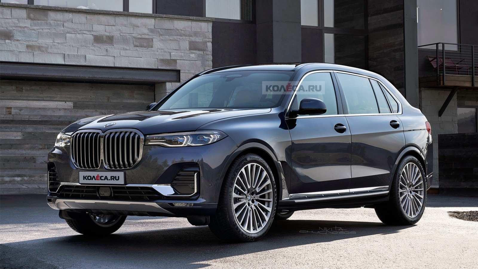 BMW X8 front1