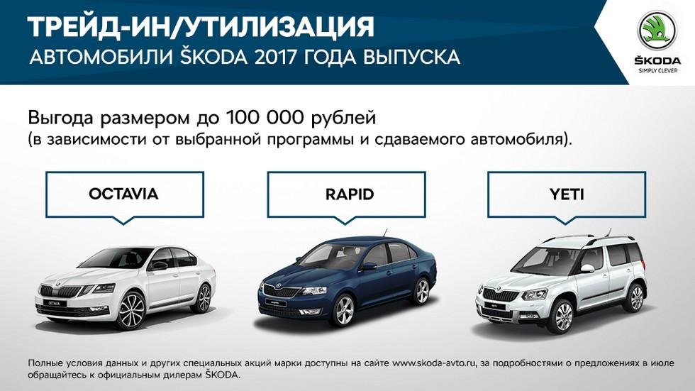 Выгодные предложения для клиентов SKODA в июле (3)