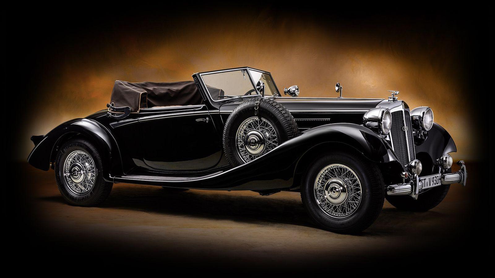 Horch 930 V Gläser Spezial Roadster 1937 года
