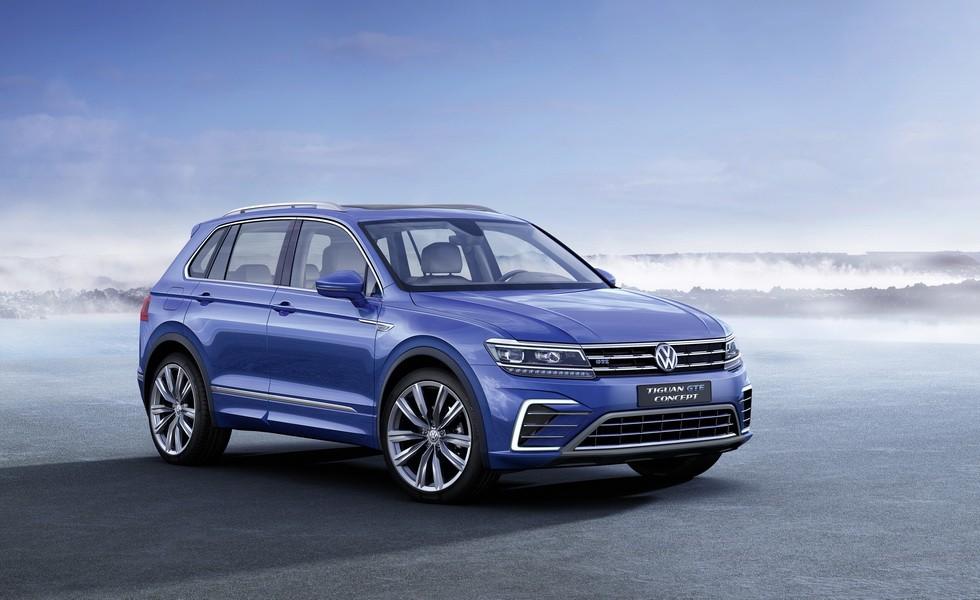 Концепт Volkswagen Tiguan GTE 2015