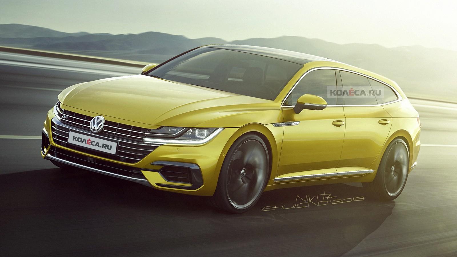 VW Arteon front1