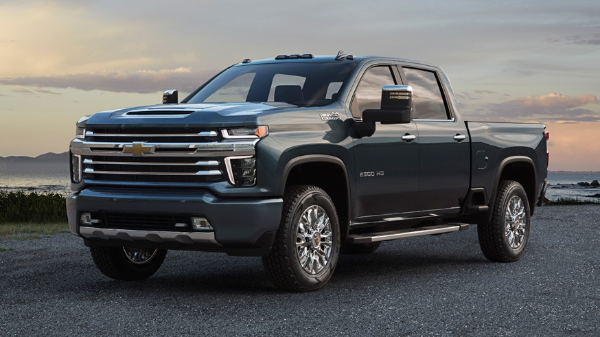 На фото: Chevrolet Silverado HD (High Country)
