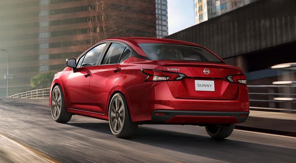Седан Nissan Sunny нового поколения: Versa попроще или Almera без турбомотора