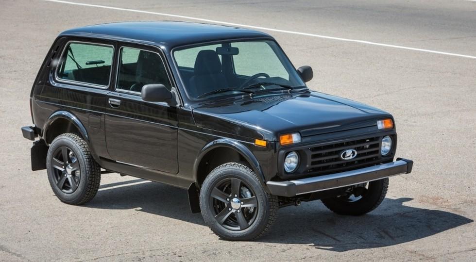 На фото: Lada 4x4 Black Edition
