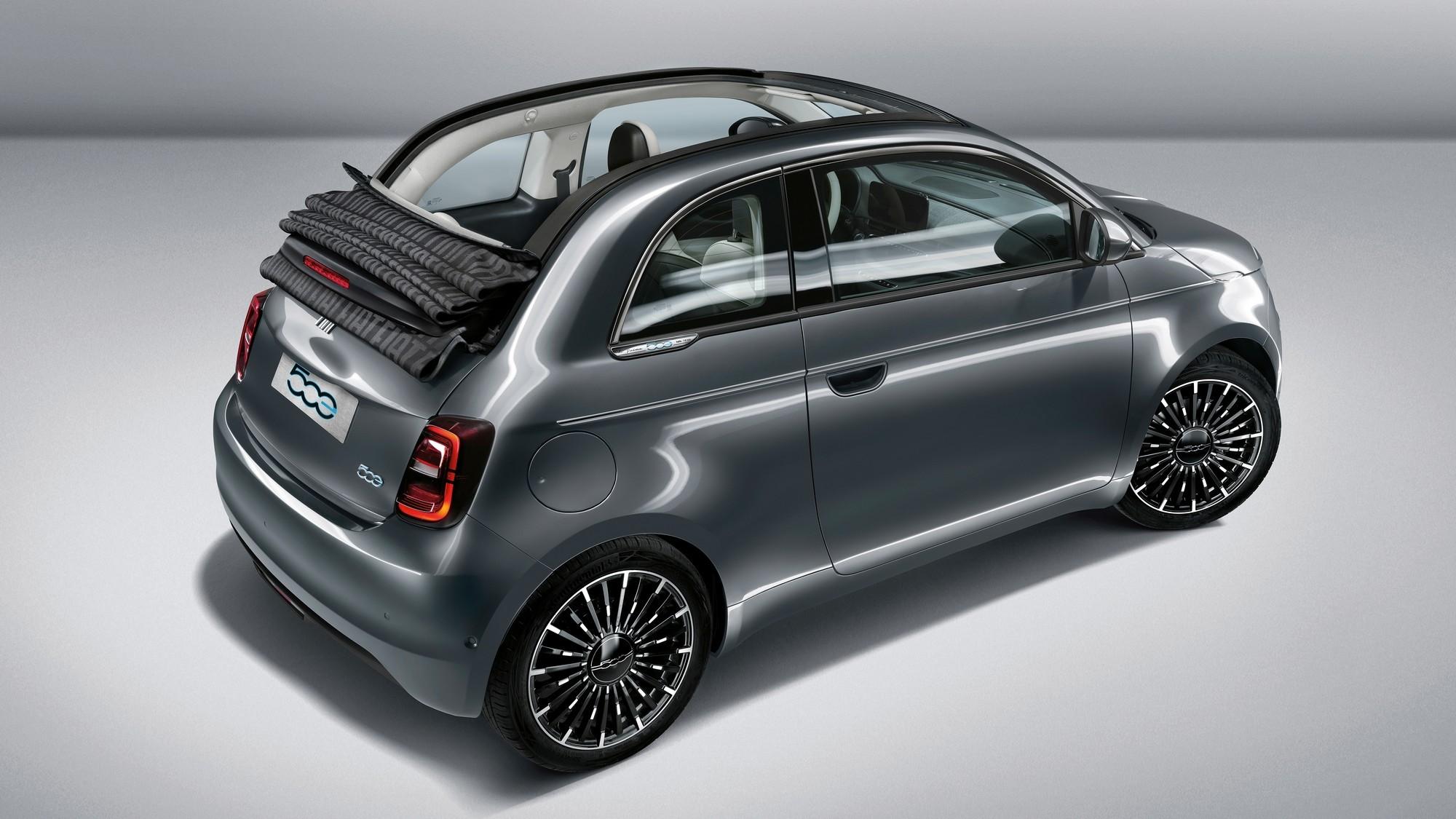 Практичная асимметрия: новый Fiat 500 получит дополнительную боковую дверь