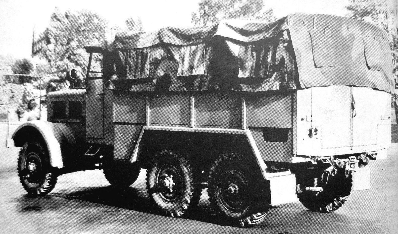 MAN, Borgward, Mercedes-Benz и не только: немецкие грузовики Второй мировой